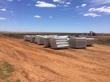 Port Augusta material deposit