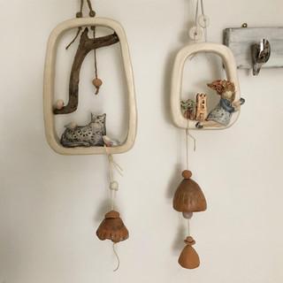 decorazione da appendere con campanelle