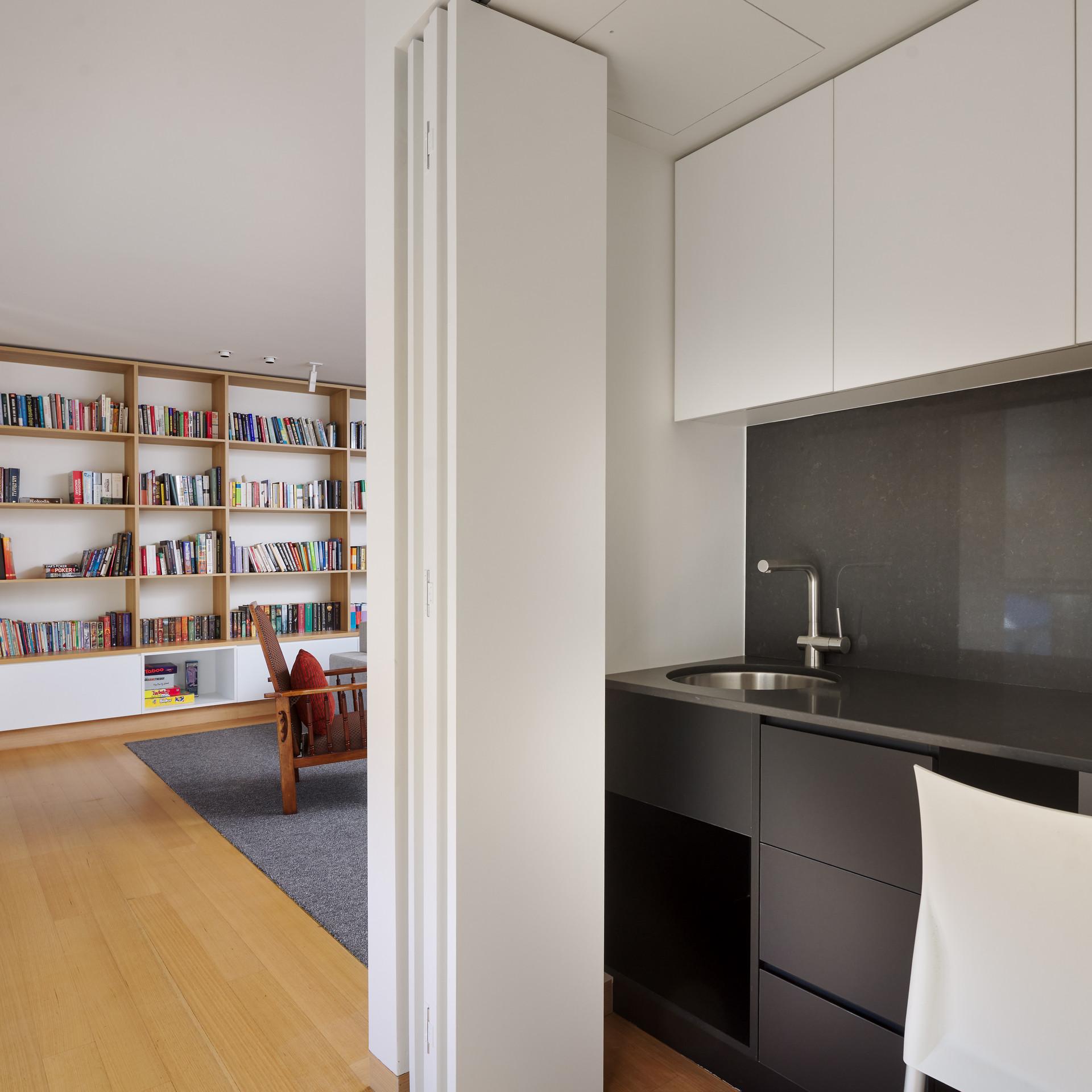 Home Library Design Floreat, Perth