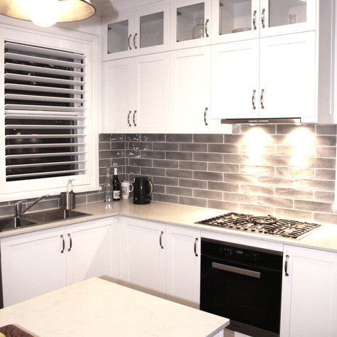 Hamptons Style Kitchen Cabinets Dalkeith, Perth