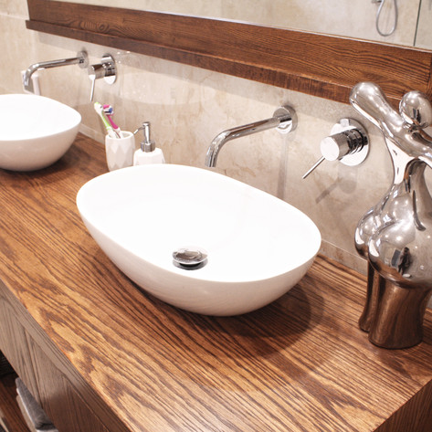 Freestanding Timber Bathroom Vanity Applecross, Perth
