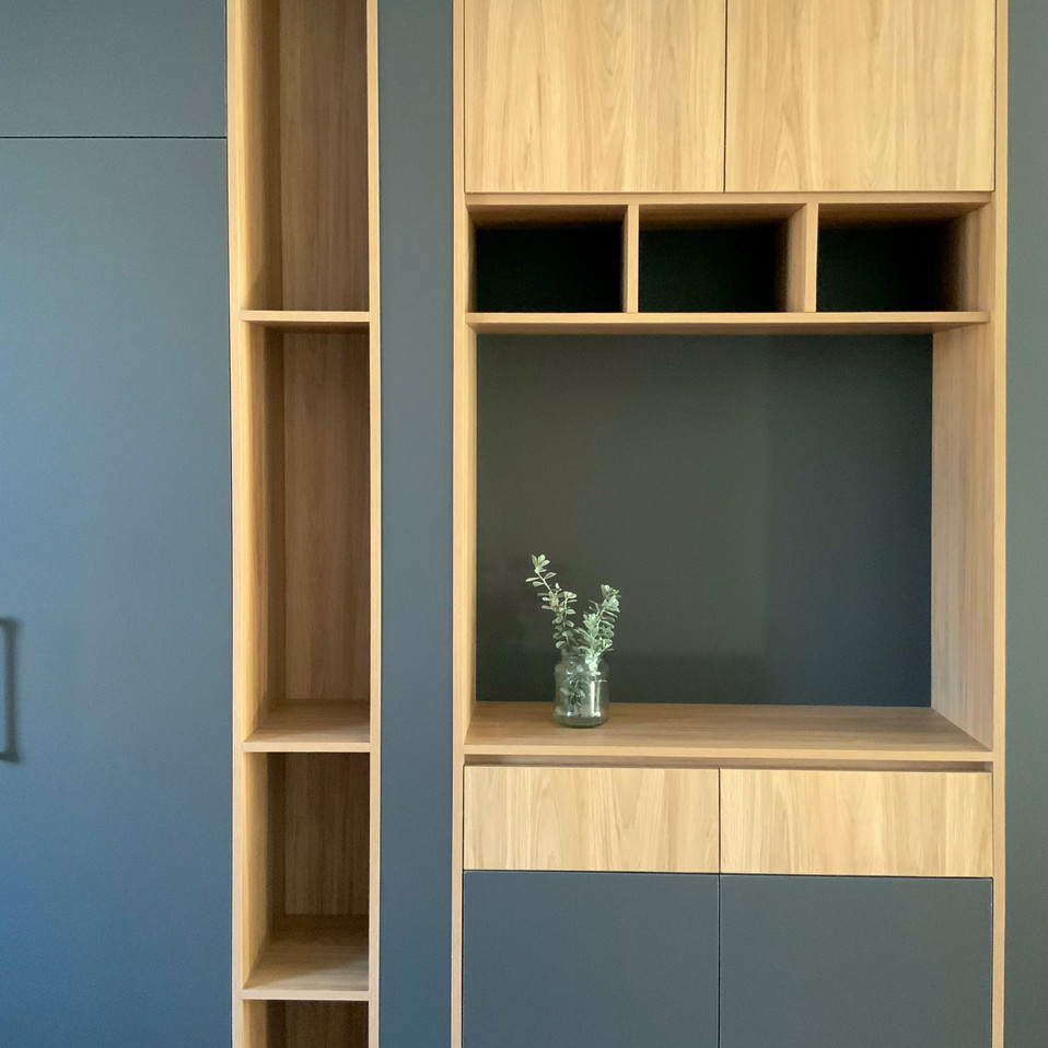 Tall Kitchen Cabinet with Open Shelving East Perth, Perth