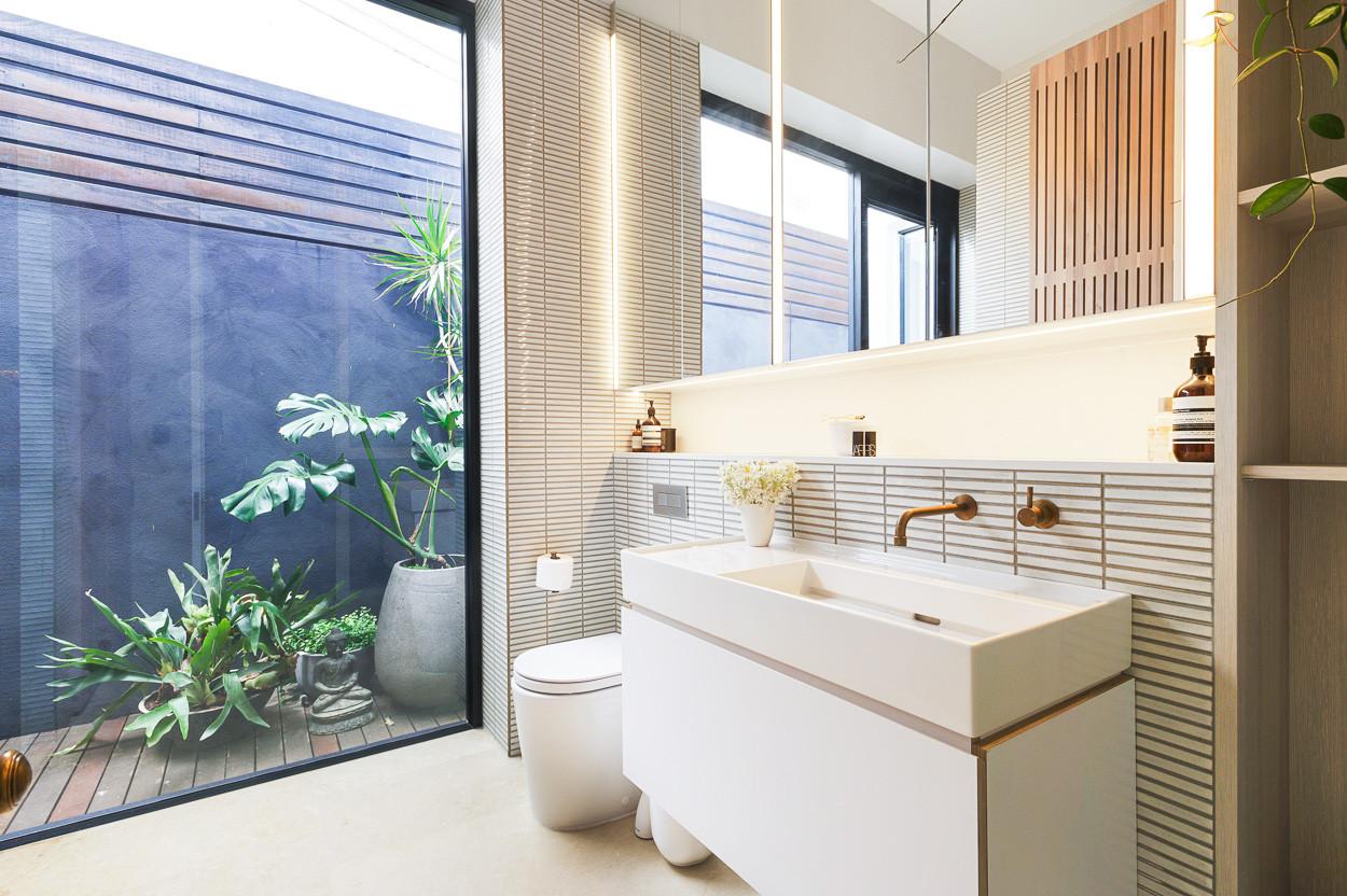 Bathroom renovation East Fremantle, Perth