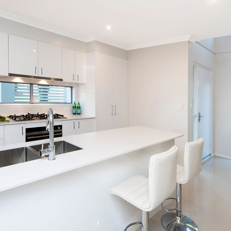 White Kitchen Design Kewdale, Perth