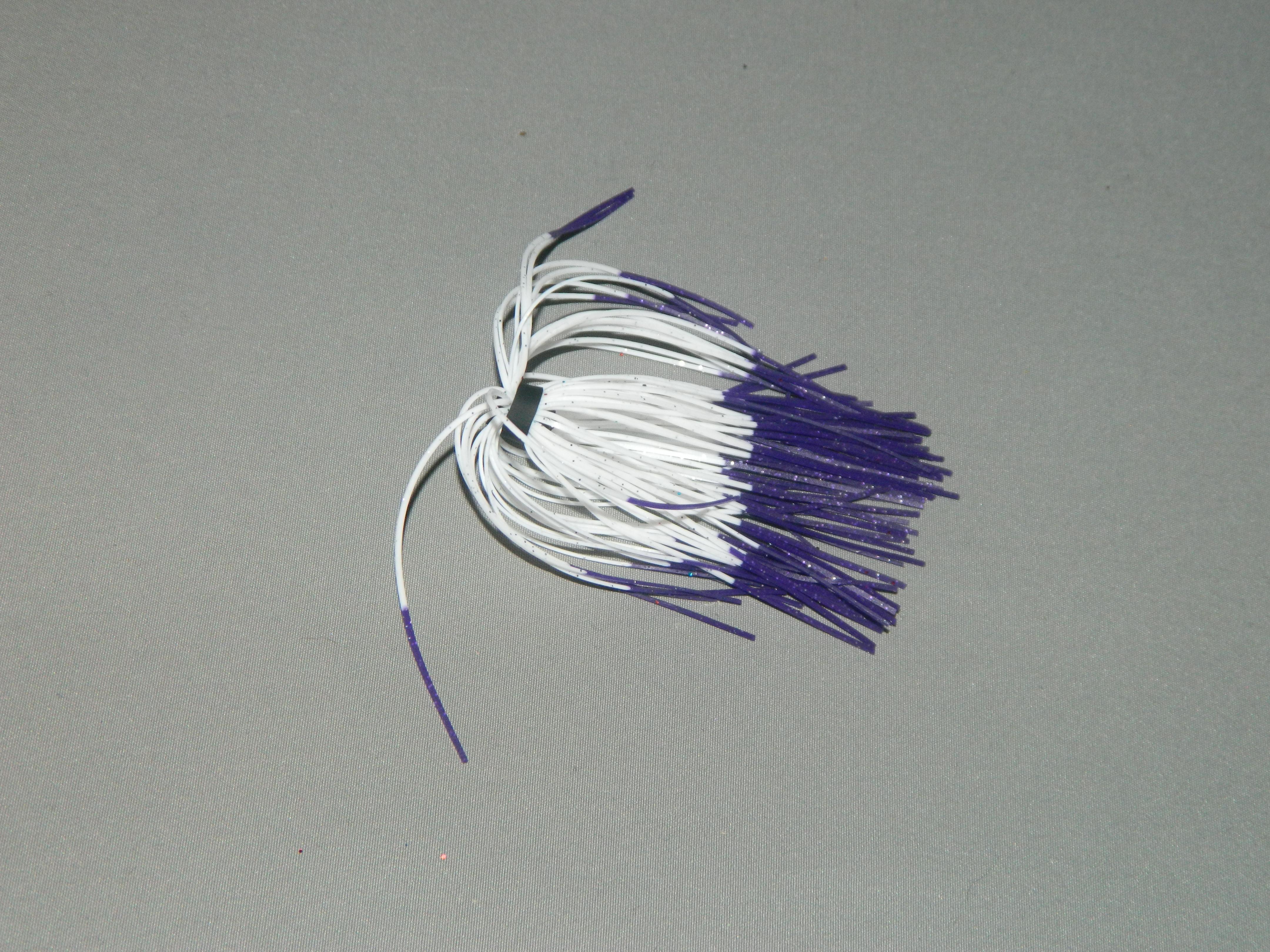 15 Purple white