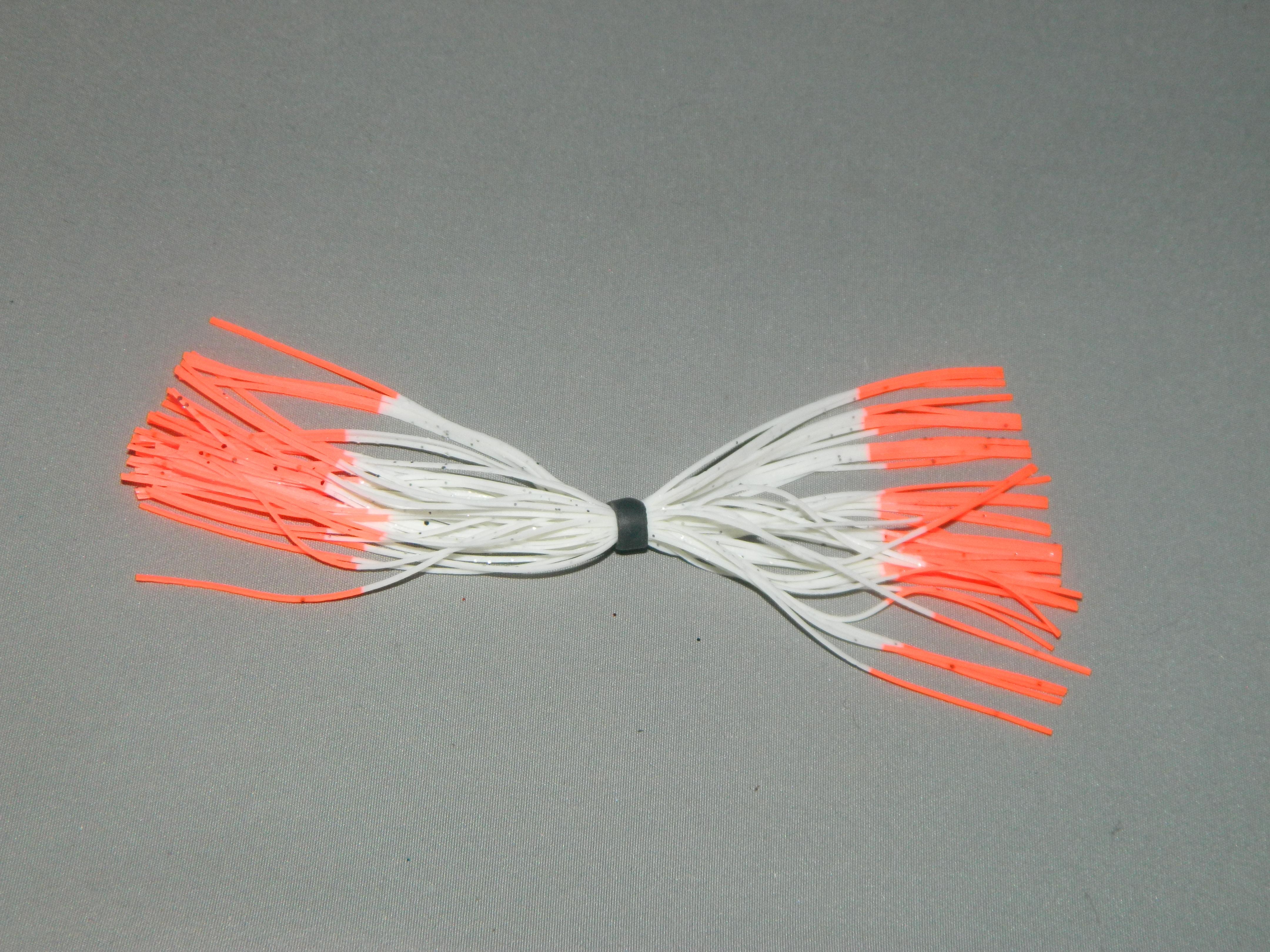 24 white orange tips