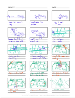 Freestyle Storyboards - Credits