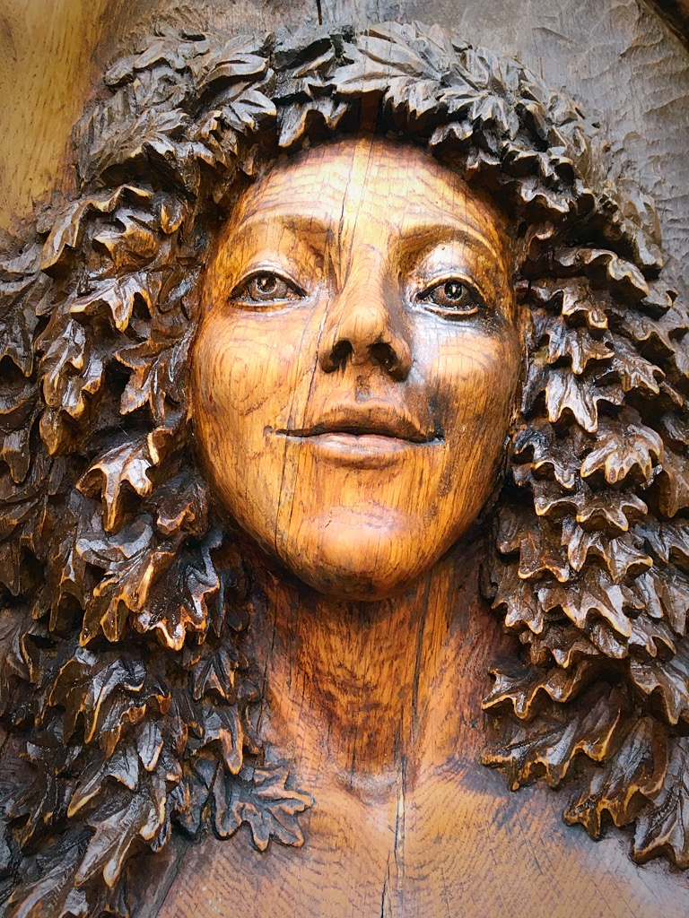 Goddess of the woods, Cae Mabon