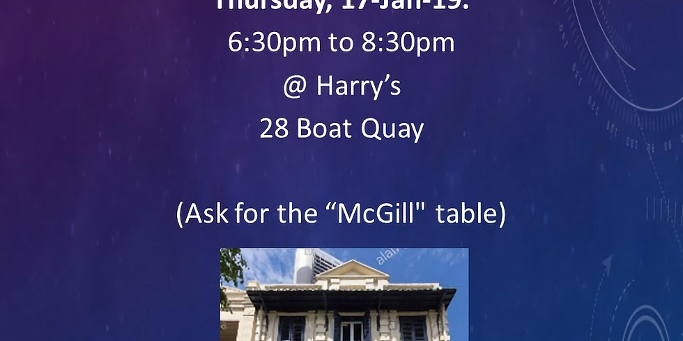 McGill Alumni Networking Happy Hour