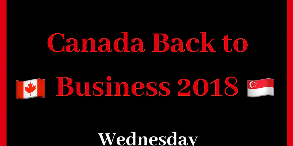 Canada Back to Business 2018