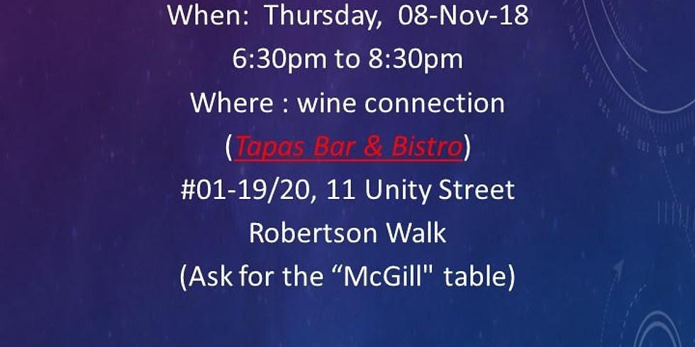 McGill Society of Singapore November Happy Hour