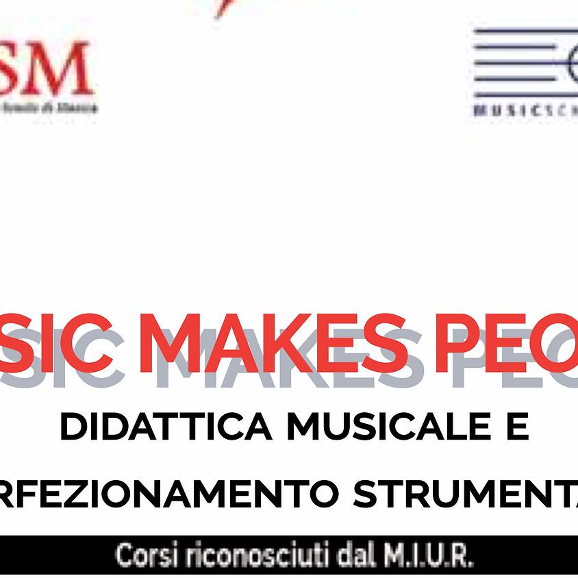 Riprendono i seminari di Music Makes People!