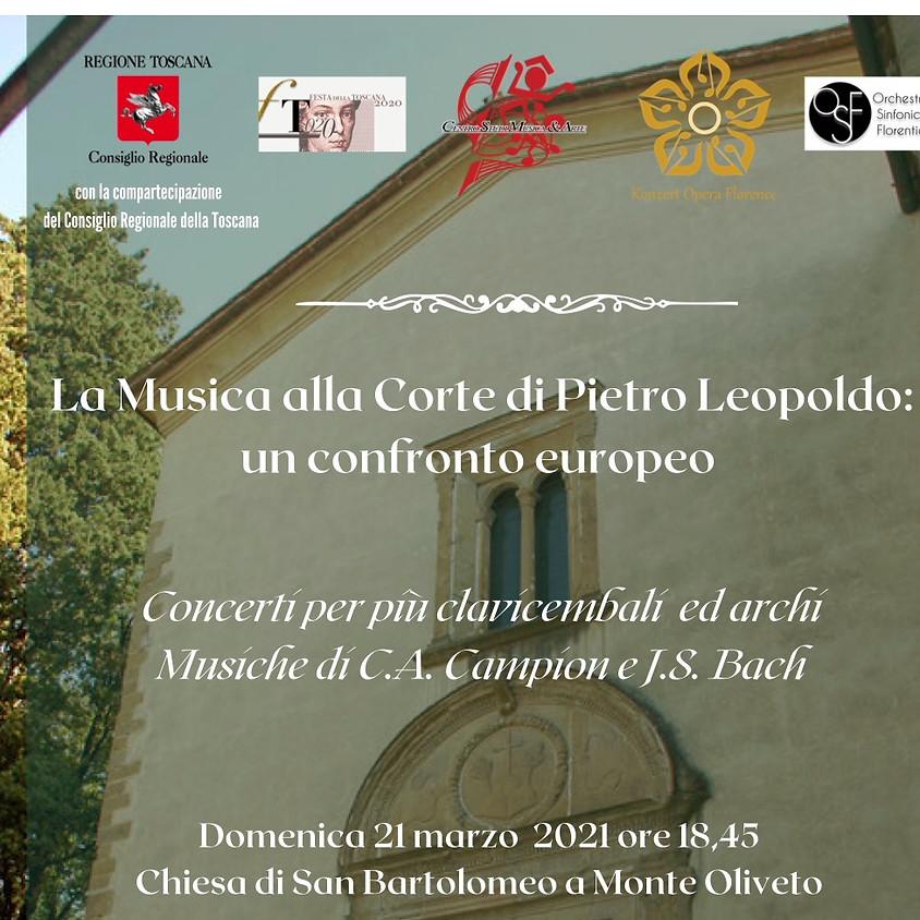 La musica alla corte di Pietro Leopoldo: un confronto europeo