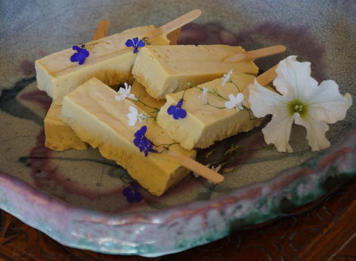 Creamy Pili Ice-Blocks by Tanya