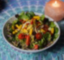 Raw Superfood Pili Nut Salad