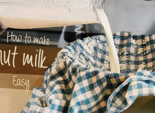 How to make pili nut milk