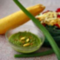 Pili Nut Pesto salad dressing
