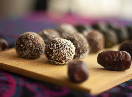 Raw Vegan Energy Protein Balls