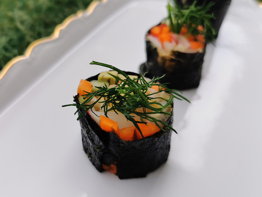 Simple & Tasty Nori Rolls