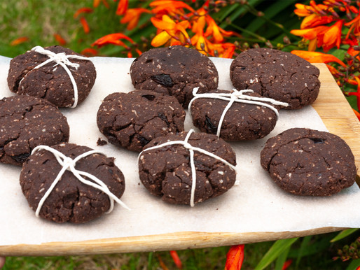 Raw Macacao & Pili nuts cookies