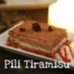 Pil Nut Tiramisu Cake