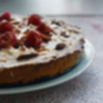 Raw Pili Nut Cake