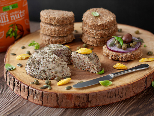 Authentic Pili Nut Mushroom Cheese