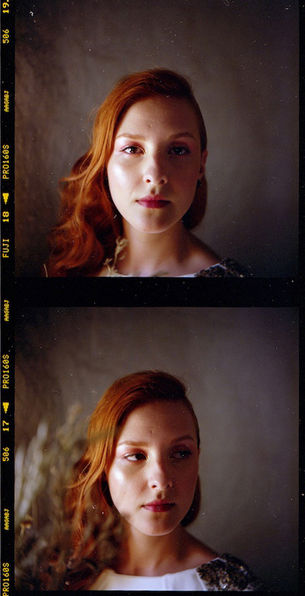 Retrato Noiva 120 Film Rolleiflex