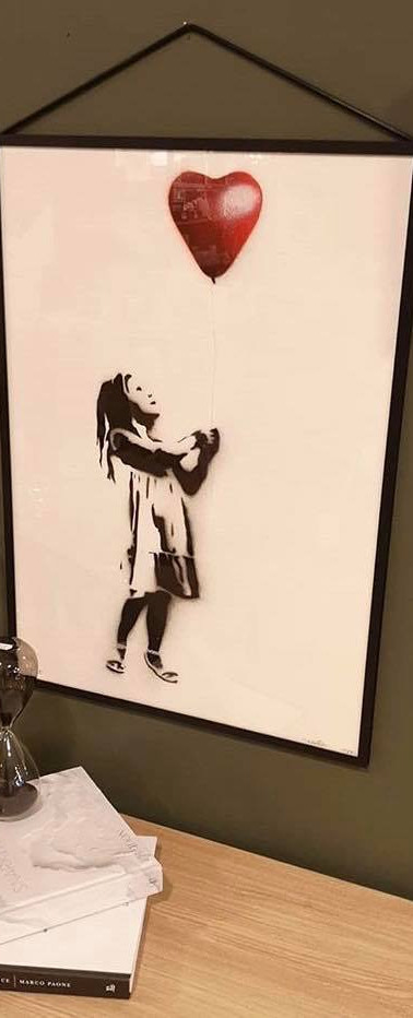 """Girl With The Balloon"" Print"