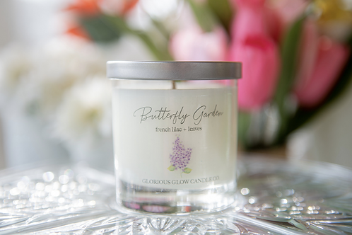 Butterfly Garden Candle