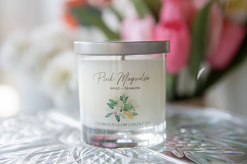 Pink Magnolia Candle