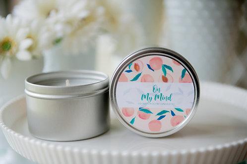 On My Mind - 8 oz. Travel Tin Candle