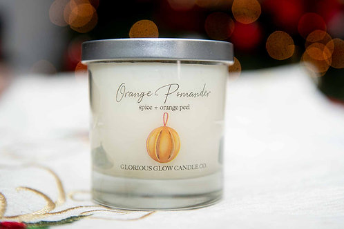 Orange Pomander Candle