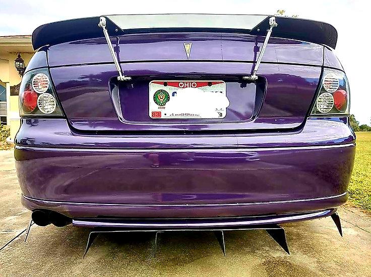GTO Spoiler Adjustable Rods/Tabs