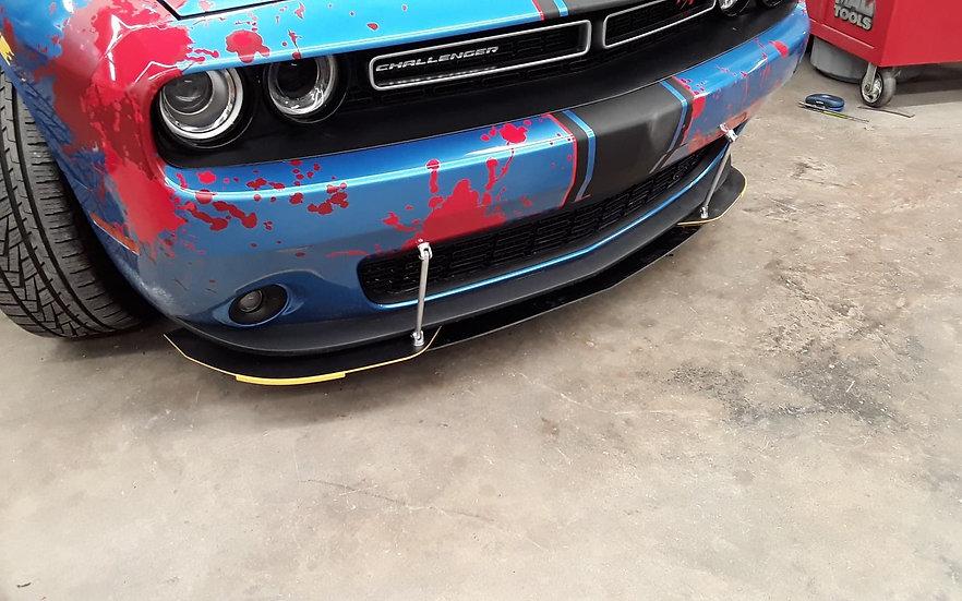 Challenger 3pc Front Splitter