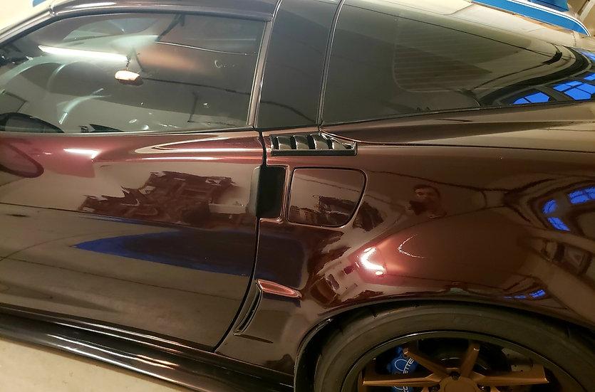 C6 Corvette Quarter Vents