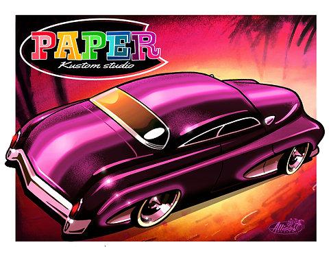 paper Kustom Car studio