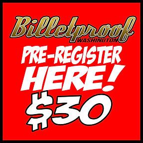 Washington Billetproof Pre-Registration
