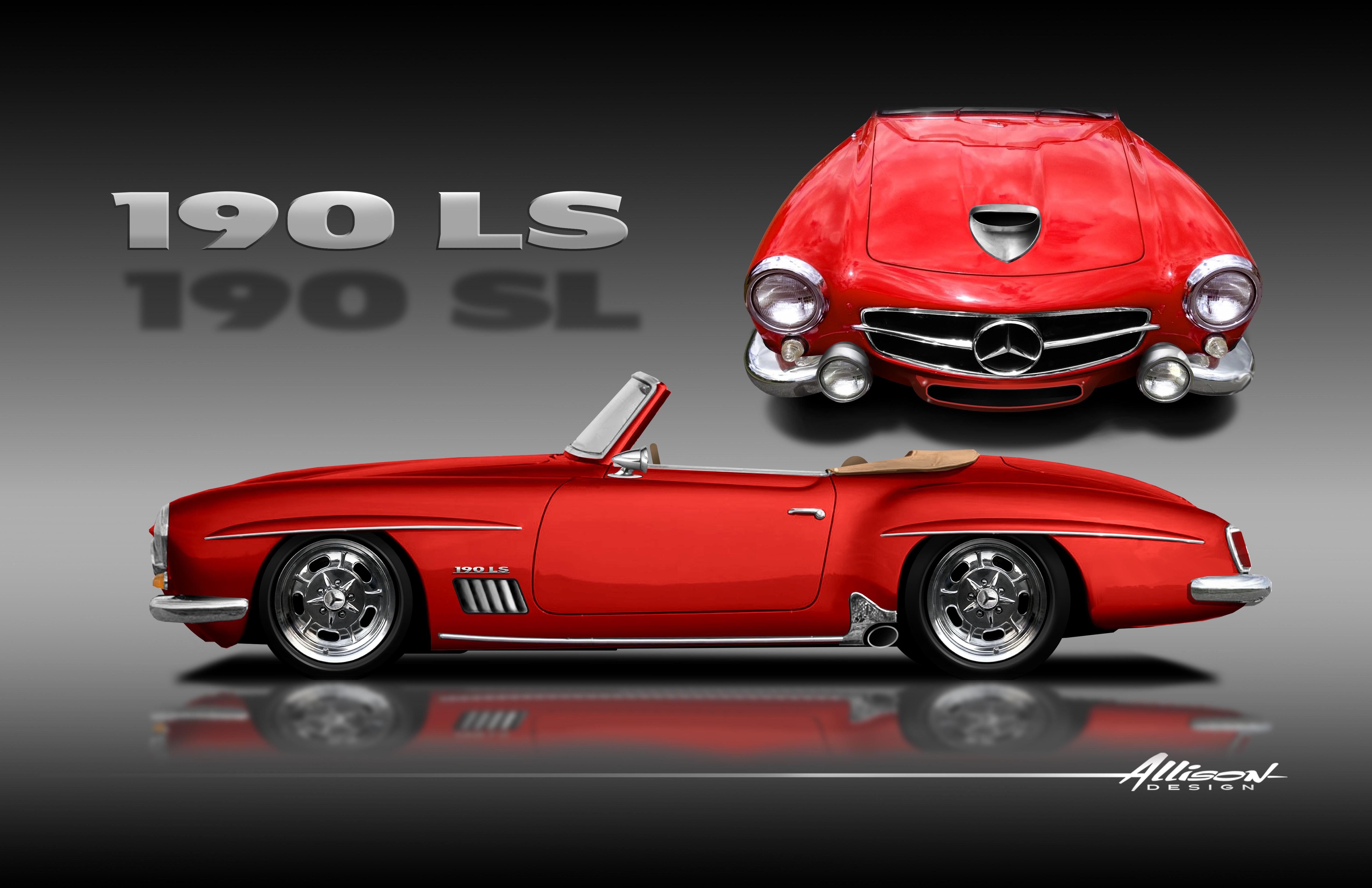 190 LS RED ROCKER