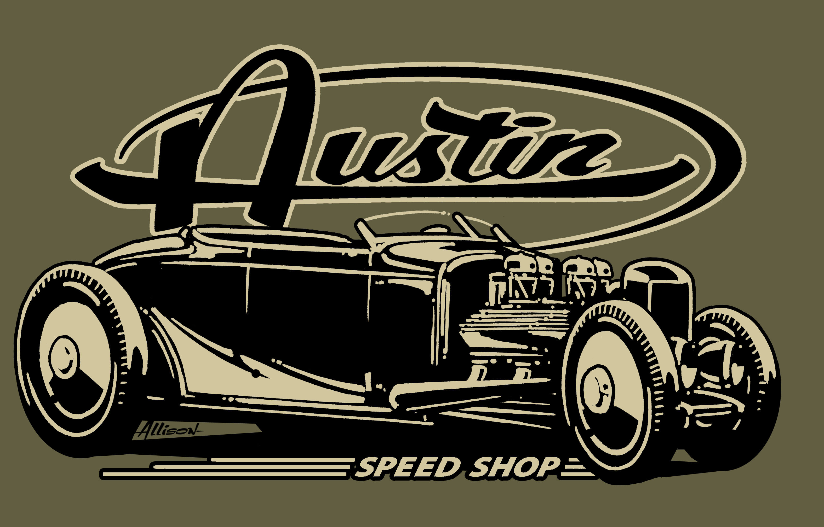 AUSTIN SPEED SHOP T
