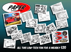 PAPER SPEED SHOP BOOKLETS