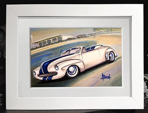 Pete Brock 1946 Ford custom