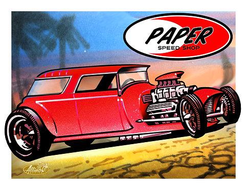 paper SPEED SHOP