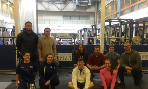Nicole Delivering Coaching Workshops for British Weightlifting