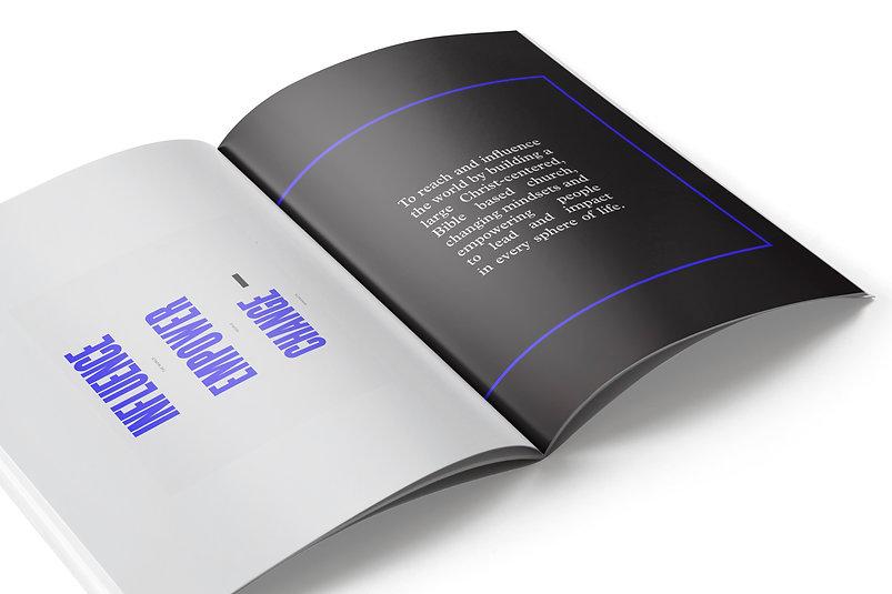 annual report modern minimal