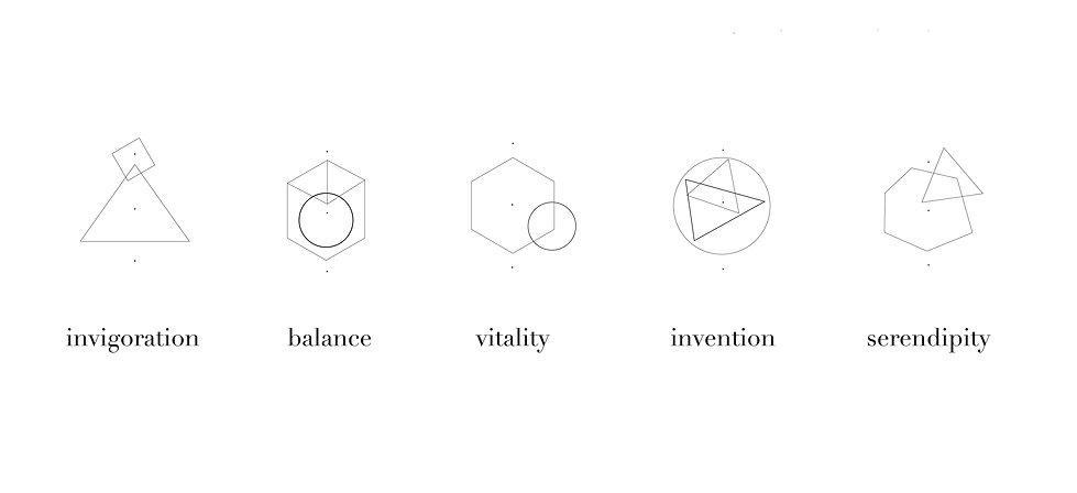 minimal geometric moder icons