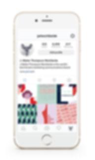 instagram social media graphic design femenine fun girly helen lansdowne resor