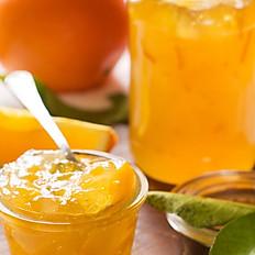 Crêpe confiture d'orange