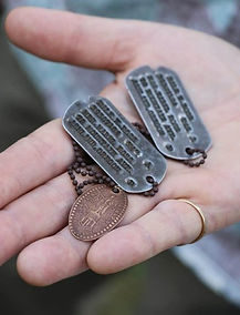 MIA Dog Tags found on Guadalcanal