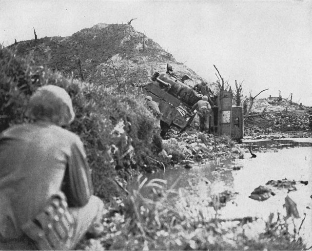 Hill 100 on 19 Sept. 1944